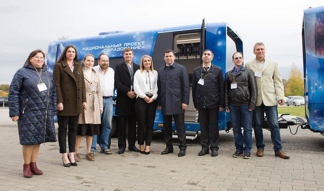Детский мобильный технопарк «Кванториум» теперь и в Ярославле